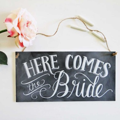 Here-Comes-The-Bride-Chalkboard-Sign-Lily-_-Val-4.jpeg